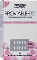 Proviable-DC for Dogs and Cats, 80 Capsules proviable-dc dogs cats 80 capsules multi-strain probiotic contains live microorganisms ensure viability stability protects against gastric degradation 7 key strains restoring intestinal microfloral balance sprinkle petmeds