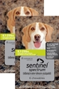 Sentinel Spectrum for Dogs 8-25 lbs, 12 Month (Green)