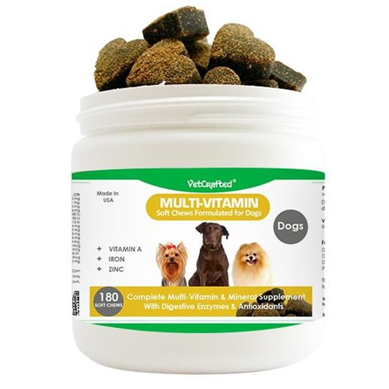 VetCrafted Multi-Vitamin Soft Chews for Dogs, 180 ct.