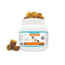 VetCrafted Omega Max Soft Chews for Small to Medium Dogs and Cats, 150 ct.