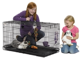 37 in Wabbitat Rabbit Cage