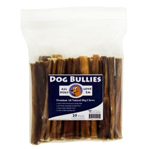 6 dog bully sticks pizzle chews 25 ct. Black Bedroom Furniture Sets. Home Design Ideas