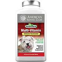AKC RenewTrients Multi-Vitamin, 180 Chewable Tablets