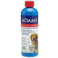 Adams Flea and Tick Shampoo, 6 oz