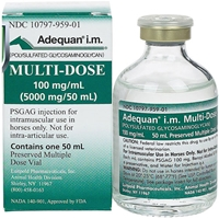 Adequan I.M. Multi-Dose, 100 mg/mL, 50 mL