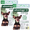 Advantage for Dogs II 1-10 lbs, Green, 12 Pack