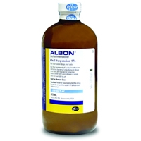 Albon 5% Oral Suspension, 16 oz
