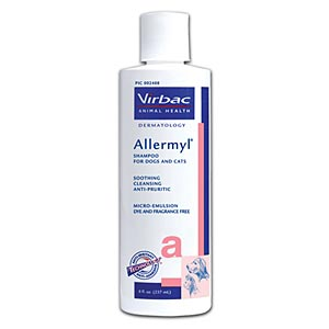 Allermyl Shampoo for Dogs and Cats, 16 oz