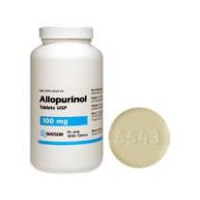 Allopurinol 100 mg, 100 Tablets