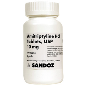 Amitriptyline 10mg, 100 Tablets