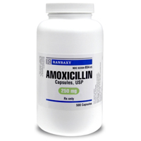 Amoxicillin 250 mg, Single Capsule