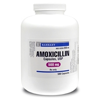 Amoxicillin 500 mg, Single Capsule