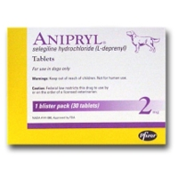 Anipryl (selegiline) 2 mg, 30 Tablets