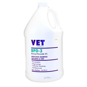 BPO-3 Medicated Shampoo, Gallon