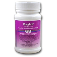 Baytril (enrofloxacin) 68 mg, 50 Taste Tablets