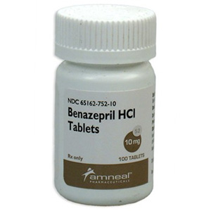Benazepril HCL 10 mg, 100 Tablets