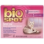 Bio Spot Spot On Flea & Tick Control for Cats Over 5 lbs, 3 Pack