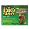 Bio Spot Spot On Flea & Tick Control for Dogs 16-30 lbs, 6 Pack