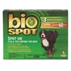 Bio Spot Spot On Flea & Tick Control for Dogs Over 60 lbs, 6 Pack
