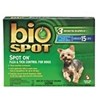 Bio Spot Spot On Flea & Tick Control for Dogs Under 15 lbs, 3 Pack