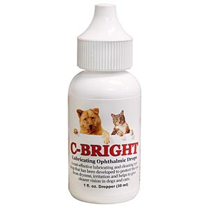 C-Bright Lubricating Ophthalmic Drops, 1 oz