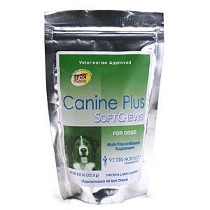 Canine Plus Vitamin/Minerals, 60 Chews