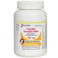 Carprofen 100 Mg 60 Chewable Tablets