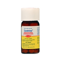 Centrine (aminopentamide) 0.2mg, 100 Tablets