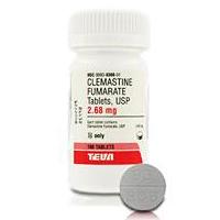 Clemastine Fumarate 2 68 Mg 100 Tablets Vetdepot Com