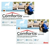 Comfortis for Dogs 40-60 lbs, Blue 12 Pack