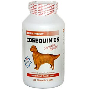 Cosequin DS (Double Strength) for Dogs, 132 Chewable Tablets