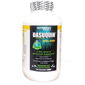 Dasuquin MSM Small/Medium Dog, 250 Chewable Tablets