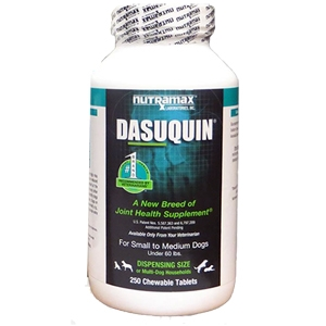 Dasuquin Small/Medium Dog, 250 Chewable Tablets