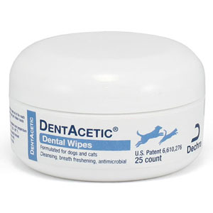 DentAcetic Wipes, 25