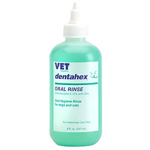 Dentahex Oral Rinse with Chlorhexidine 0.12% and Zinc, 8 oz