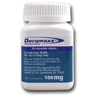 Deramaxx 100 mg, 30 Chewable Tablets