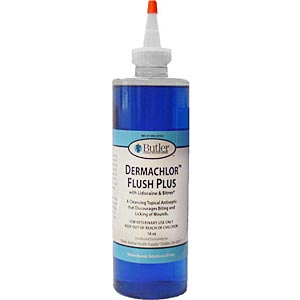 Dermachlor Flush Plus, 16 oz