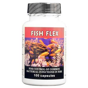 Fish Flex (Cephalexin) 250 mg, 100 Capsules