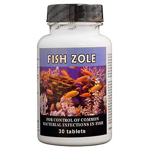 Fish Zole (Metronidazole) 250 mg, 30 Tablets