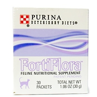 FortiFlora Feline Nutritional Supplement, 30 Sachets