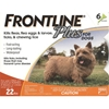 Frontline Plus for Dogs 0-22 lbs, Orange, 6 Pack