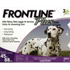 Frontline Plus for Dogs 45-88 lbs, Purple, 3 Pack
