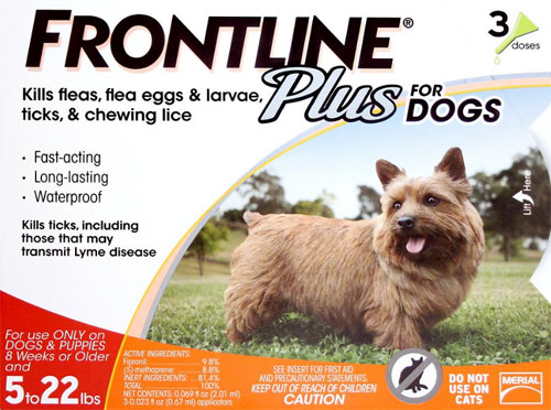 Frontline Plus Flea And Tick Control For Dogs And Cats Vetdepot