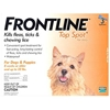 Frontline Top Spot for Dogs 0-22 lbs, Orange, 3 Pack