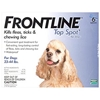 Frontline Top Spot for Dogs 23-44 lbs, Blue, 6 Pack