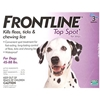 Frontline Top Spot for Dogs 45-88 lbs, Purple, 3 Pack