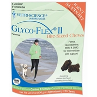 Glyco-Flex II Bite-Sized Chews, 120 Soft Chews