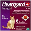 Heartgard for Cats 5-15 lbs, Purple, 6 Chewables