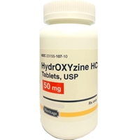 Hydroxyzine HCl 50 mg, 1000 Tablets
