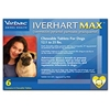 Iverhart Max for Dogs 12-25 lbs, Blue, 6 Pack